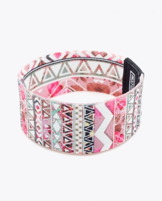 floral aztec pattern by girly trend