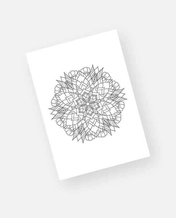 Floral mandala preview 10