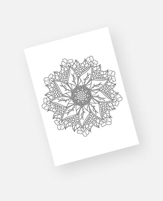 Floral mandala preview 4