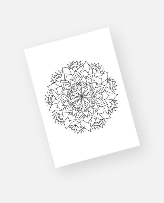 Floral mandala preview 9