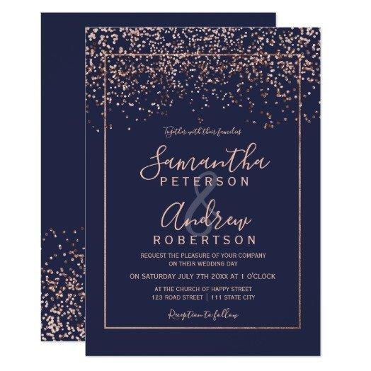 rose_gold_confetti_navy_blue_typography_wedding_invitation-rf